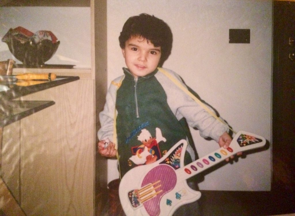 luca sammartino musicista bambino